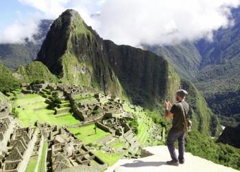 Das überwältigende Panorama von Machu Pichu