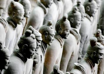 Die Terrakotta-Armee bei Xian in China