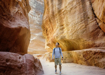 Im Sik auf dem Weg nach Petra