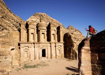 Das sogenannte Kloster in Petra, Jordanien