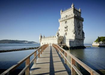 Der Torre de Belém in Lissabon