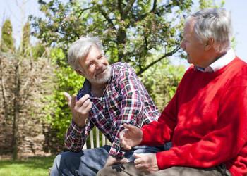 Senioren im Gespräch