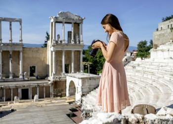Römisches Theater in Plovdiv, Bulgarien