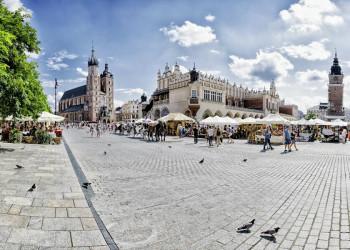 Der Marktplatz in Krakau