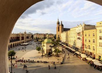 Krakaus Marktplatz