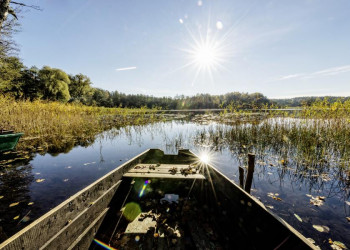 Stakenbootfahrt auf der Masurischen Seenplatte