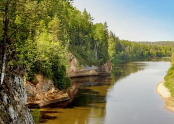 Im lettischen Gauja-Nationalpark