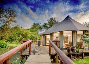 Chisoma Safari Camp im Karongwe-Wildreservat