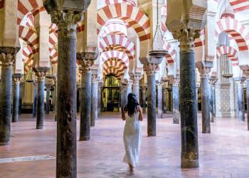 Die Bethalle der Mezquita in Córdoba