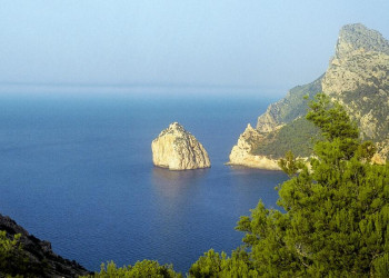 Felsige Küste auf Mallorca