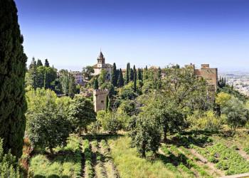 Die Alhambra in Granada.