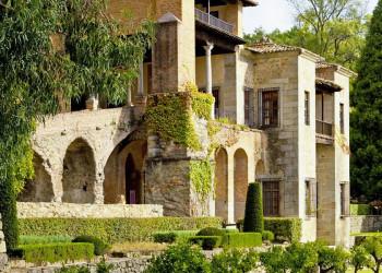 Das Kloster in Yuste in der Extremadura