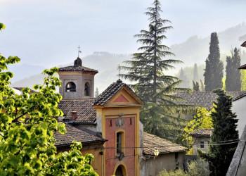 Brisighella, ein romantisches Städtchen in der Emilia Romagna