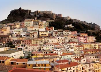 Die Festungsstadt Castelsardo auf Sardinien