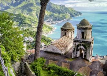 Ravello an der Amalfiküste ist immer einen Besuch wert
