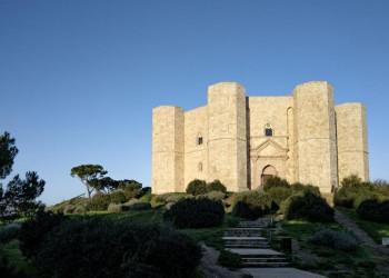 Das Castel del Monte, einer der Höhepunkte der Reise