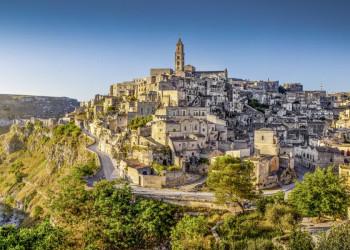 Wie gemalt: die Felsenstadt Matera