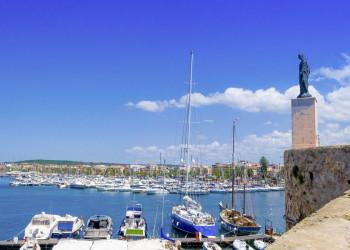 Im Hafen von Alghero