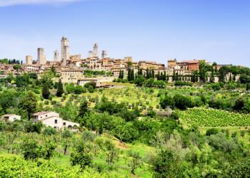 Eine unvergessliche Silhouette: San Gimignano - die Stadt der Himmelsstürmer