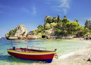 Wunderschön anzuschauen: die Isola Bella bei Taormina