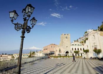 Wo Taormina ist, ist der Ätna nicht weit!