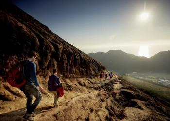 Wandern am Vulcano, dem Vulkan auf der gleichnamigen Insel