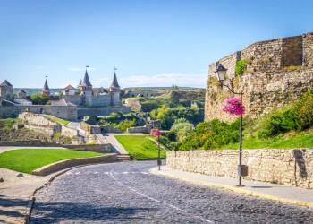 Die stolze Festung von Kamenets Podilsky