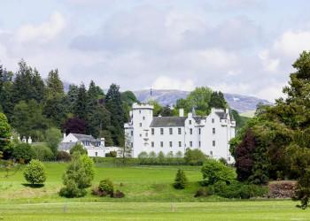 Blair Castle in der Grafschaft Perthshire