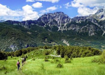 Wanderung im Valbona-Nationalpark in Nordalbanien