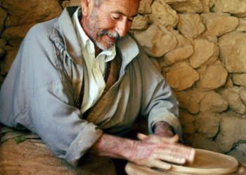 ein Töpfer im Süden Tunesiens