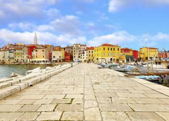Die Altstadt von Porec