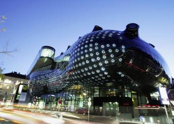 Das spektakuläre Kunsthaus in Graz