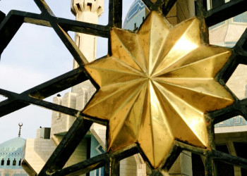 Die König-Abdullah-Moschee in Amman