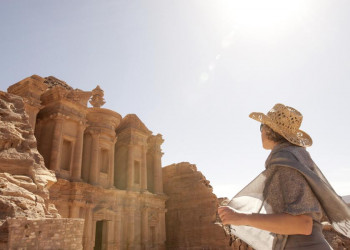 Antike Baukunst in Petra
