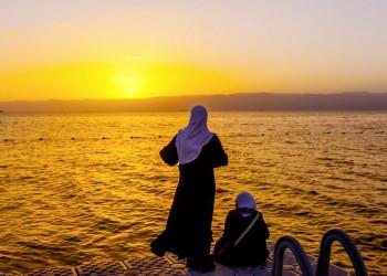 Sonnenuntergang am Golf von Akaba