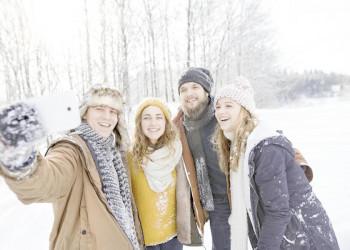 Tief verschneit erwartet uns das Herz Norwegens