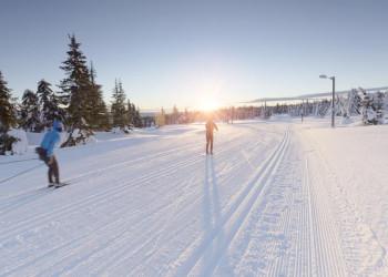 Langlaufen in den Weiten Norwegens