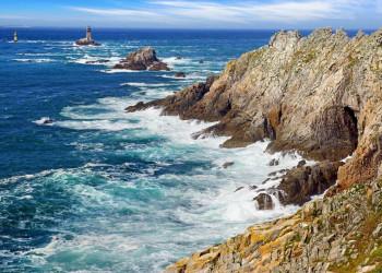 Die wilde bretonische Küste