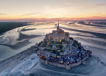 Mont Saint-Michel in der Bretagne