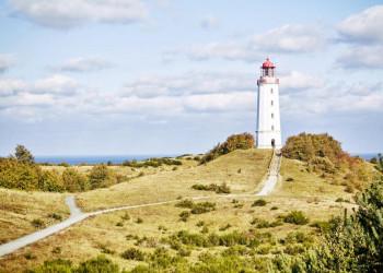 Der Leuchtturm auf Hiddensee - Wahrzeichen der Insel