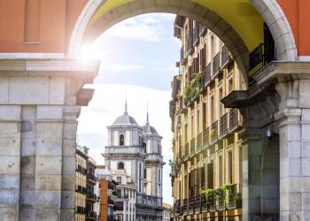 Madrids schöne, beschauliche Altstadt