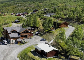 Unsere Basis auf dem Fjell: die Filefjellstuene Lodge