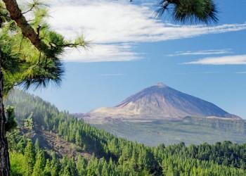 Der Vulkan Teide auf Teneriffa