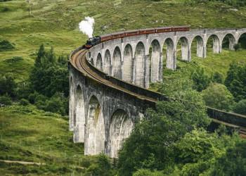 Auf den Spuren von Harry Potter: Wir suchen uns den besten Fotospot am Glenfinnan-Viadukt