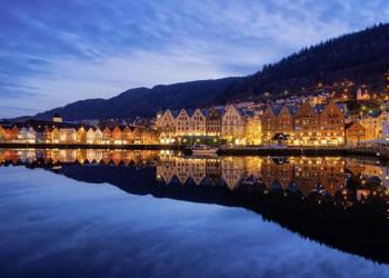 Die ehrwürdige Hafenstadt Bergen, unser Sprungbrett zum Fjell