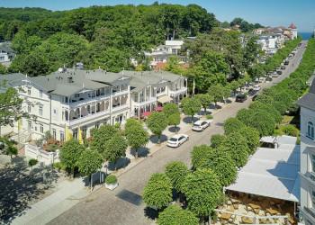 Das Privathotel Roewers in Sellin auf Rügen