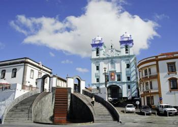 Im Zentrum von Angra do Heroismo auf den Azoren