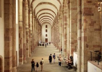 Kaiserdom zu Speyer - Seitenschiff
