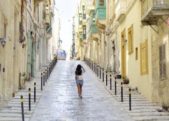 Die Straßen der Hauptstadt Valletta - Geschichte und Atmosphäre pur!
